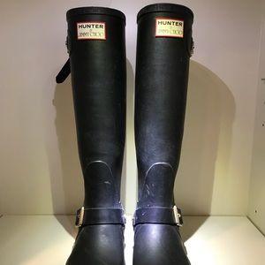 HUNTER+JIMMY CHOO rain boot